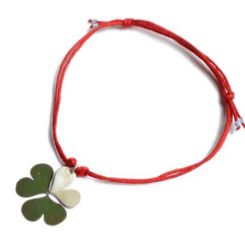Glückskleearmband