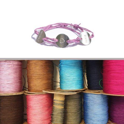Nylonband für Armbänder mit Verschluss