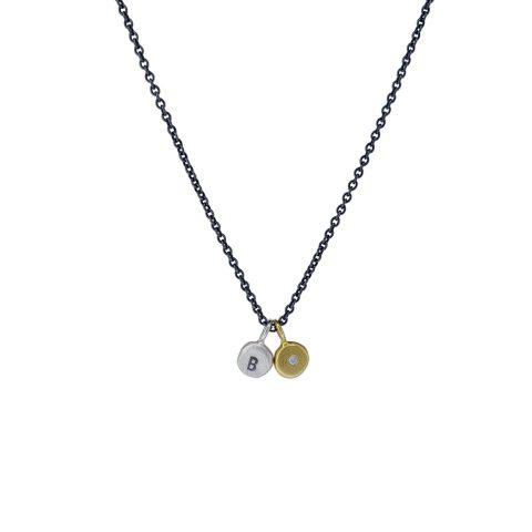 Dot-Set Silber & Gold mit Brillant