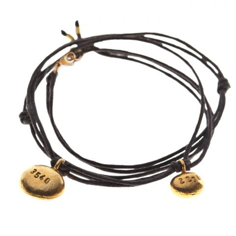 Goldstückarmband